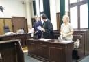 Rozprawa w sądzie okręgowym, 21.06.2018