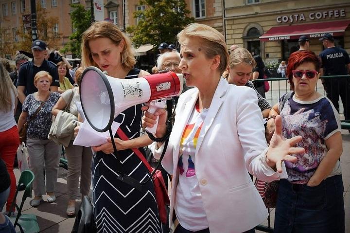 Joanna Scheuring-Wielgus naObywatelskim Zgromadzeniu Narodowym