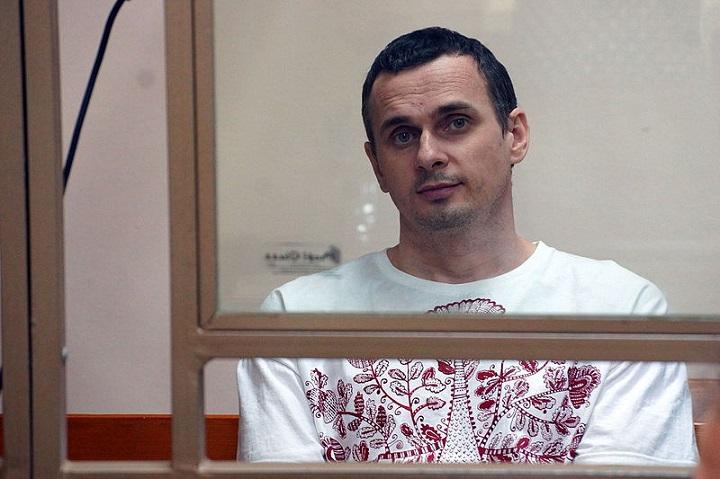 Ołeh Sencow jest więźniem politycznym od2014 roku