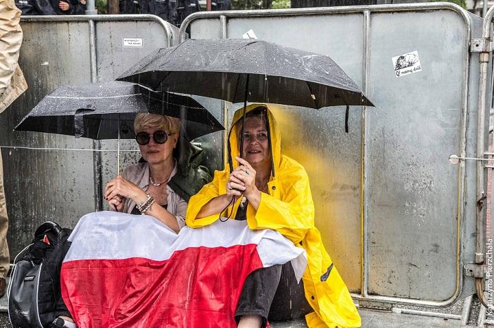Protest przedSejmem, 18.07.2018