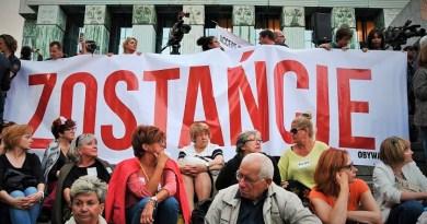 Demonstracja w obronie Sądu Najwyższego, Warszawa, 3.07.2018