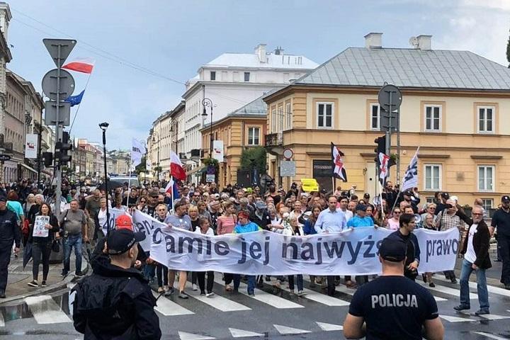 Idziemy podSejm, Warszawa, 13 lipca 2018