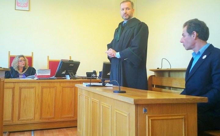 Wojciech Konopacki w sądzie za napis PZPR na szybie biura Czabańskiego