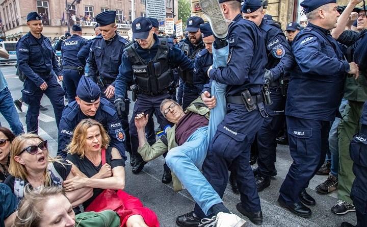Blokada marszu nacjonalistów, Warszawa 1 maja 2019