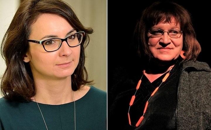 Kamila Gasiuk – Pihowicz (Koalicja Europejska) i Anna Grodzka (Lewica Razem)