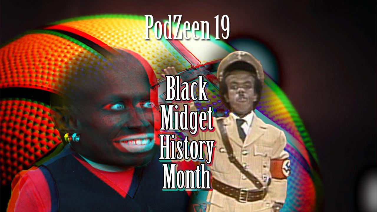 Black midget hitler