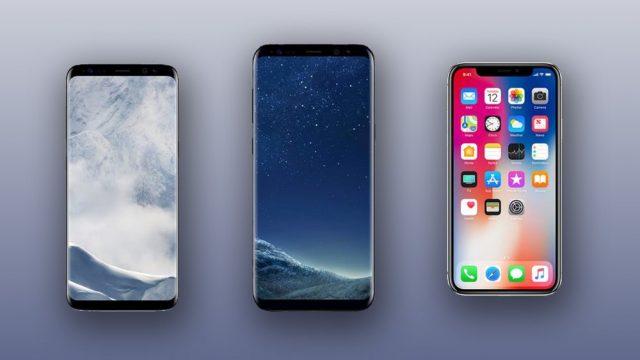 Her iki üretici de şık akıllı telefonlar sunar.
