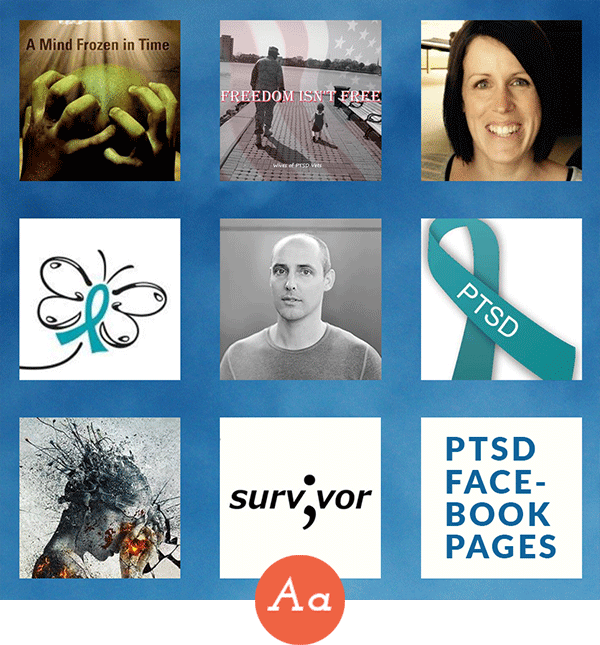 Make Connections on These PTSD Facebook Pages