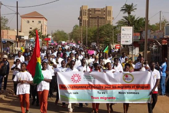 Marche de solidarité avec les migrants