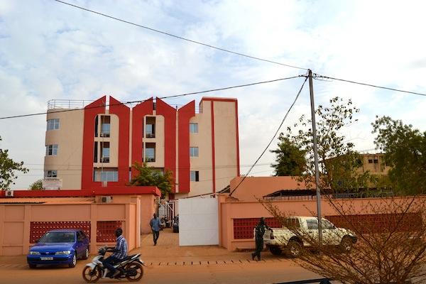 Le Centre DHI se trouve à Samandin