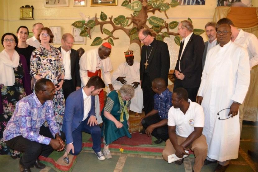Visite de la Mission chez le Mogho Naaba