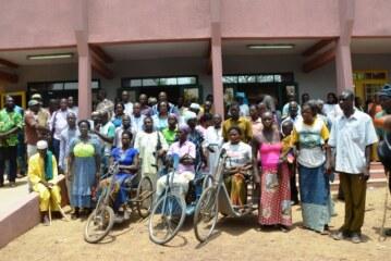 Light for the World : 178 millions mobilisés pour l'autonomisation économique de 200 personnes handicapées et femmes vulnérables du Koulpélogo