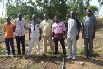 Un jardin potager au profit de la Maison d'Arrêt et de Correction de Tenkodogo
