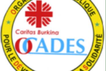 2013 : Les grandes dates de l'OCADES Caritas Burkina