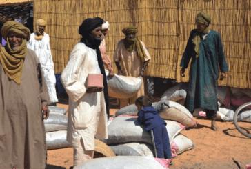 Mentao : Des aliments pour les animaux des réfugiés