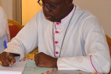 Mgr Justin KIENTEGA, nouveau Président de l'OCADES Caritas Burkina