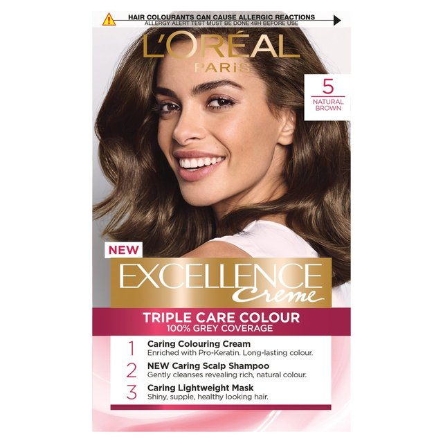L'Oreal Excellence Natural Brown from Ocado