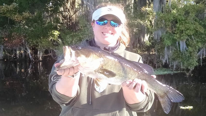First time bass fishing on the st johns river ocala for Best time for bass fishing