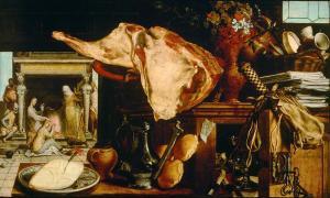 AERTSEN, PIETER (1552) 'VANITAS STILL LIFE'