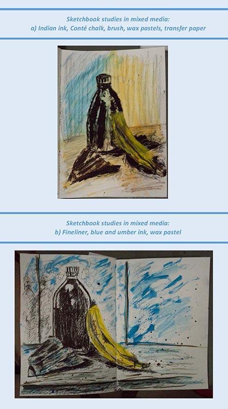 Stefan513593 - project 4 - exercise 3 -  sketchbook studies