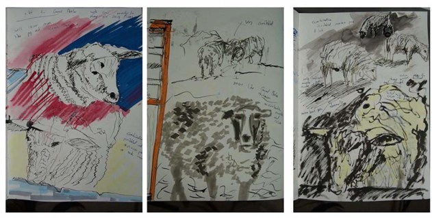 Stefan513593 - visual sketchbook studies: animals 1