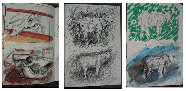 Stefan513593 - visual sketchbook studies: animals 2