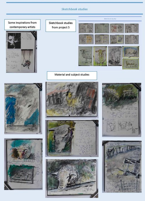 Stefan513593 - Part 2 - Assignment 2 - sketchbook studies