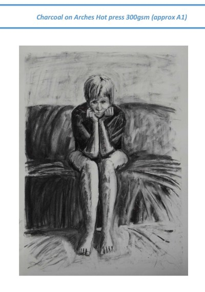 Stefan513593 - context drawing in charcoal