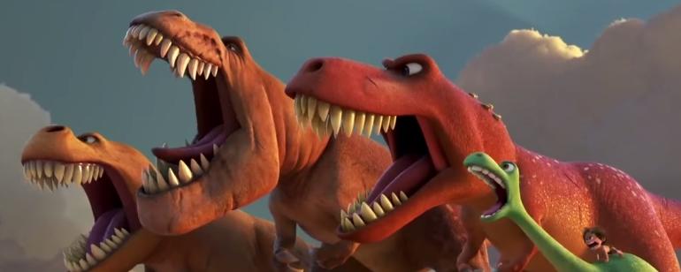 Hoje estreia o novo filme da pixar quot bom dinossauro