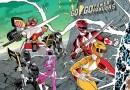 Power Rangers | Capa de HQ faz homenagem à capa clássica dos X-Men