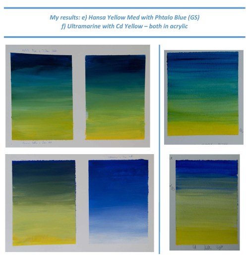Stefan513593 - Project 2 - Exercise 3 - Hansa yellow/Phtalo Blue and ultramarine/Cd yellow (acrylic)