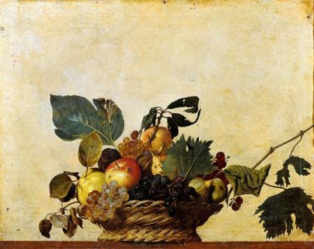 Caravaggio_basket-of-fruit_1596
