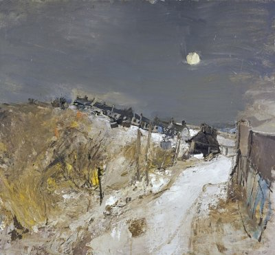 Joan Eardley_Catterline in winter_1963