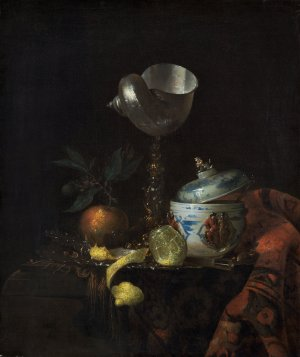 after Willem Kalf, Still Life with Nautilus Cup, 1665/1670, oil on canvas, Gift of Robert H. and Clarice Smith