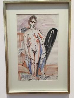 Ernst Ludwig Kirchner_Stehender Akt_1914sm