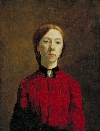 Self-Portrait 1902 Gwen John 1876-1939 Purchased 1942 http://www.tate.org.uk/art/work/N05366