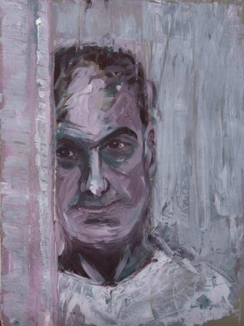 Stefan513593 - daily self-portrait #31: Acrylic on acrylic paper (41x30cm)