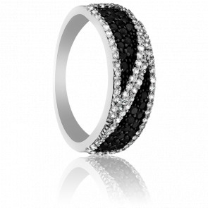bague diamant noir ocarat