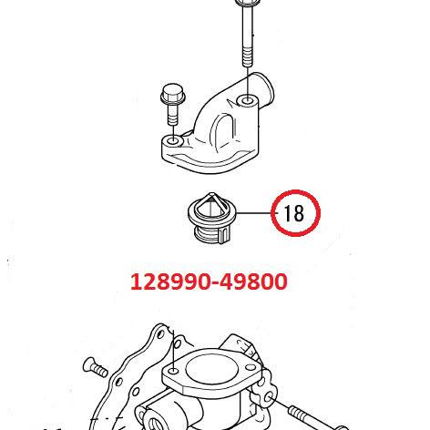 Nuevos : Termostato motores intraborda diesel Yanmar 2YM y 3YM