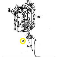 Usados : Motor de arranque fueraborda Mercury-Mariner40-50