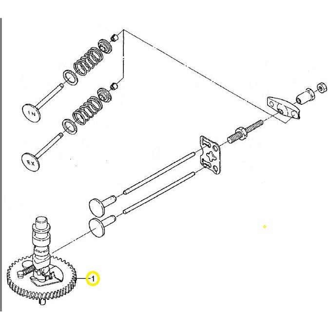 Usados : Arbol levas motores fueraborda MARINER-MERCURY 4