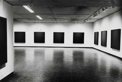 Ad Reinhardt 'Black Paintings' - Installation view -  http://www.adreinhardtfoundation.org