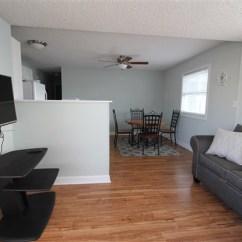 Love Seat Sofa Bed Blue Leather Sleeper Jocelyn Manor #73 | Ocean City Md Vacation Rentals Oc ...