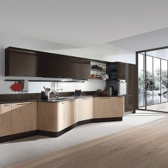 Kitchen Cabinet Makers Single Bowl Sink The First U S Flagship Showroom For Italian Maker Photo Courtesy Of Aran World Usa Llc