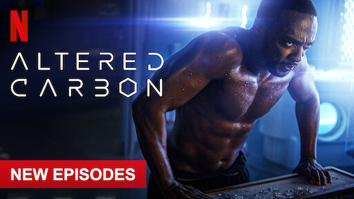 Altered Carbon is on Netflix Nigeria