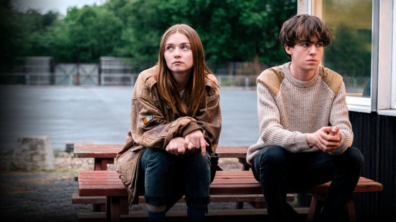 Risultati immagini per the end of the f***ing world