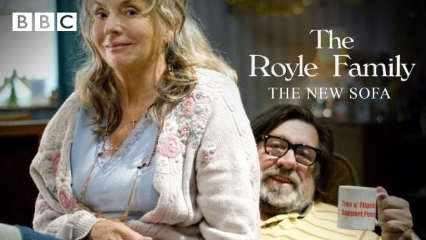 Is The Royle Family New Sofa