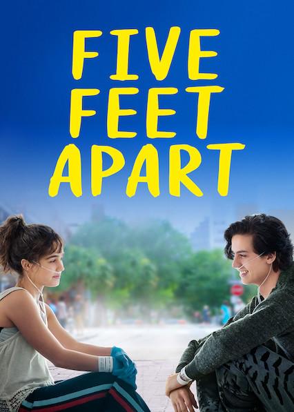 5 Feet Apart Streaming : apart, streaming, 'Five, Apart', Netflix, Where, Watch, Movie