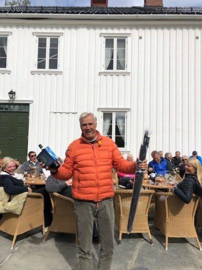 Åpningsturnering 11. mai - Christian Christensen vant