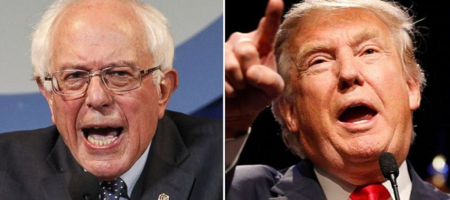 Bernie and Trump